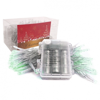 LUZ LED PILA BLAN/VERD/CALIDA X100 8 FUN