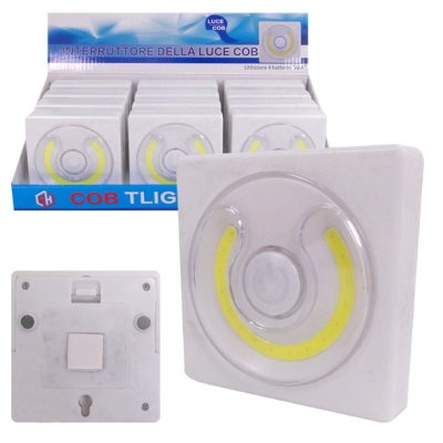 LUZ 16 LED TOUCH C/ADHESIVO/MAGNETICA