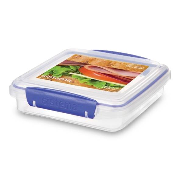 450ML SANDWICH BOX BLUE