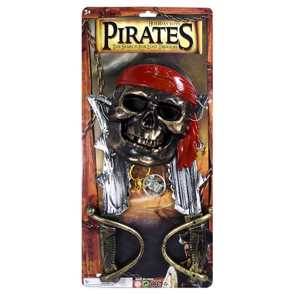 SET DE PIRATA BLISTER
