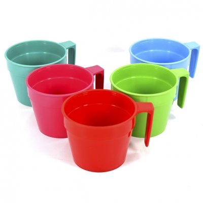 TAZA PLASTICA COLOR