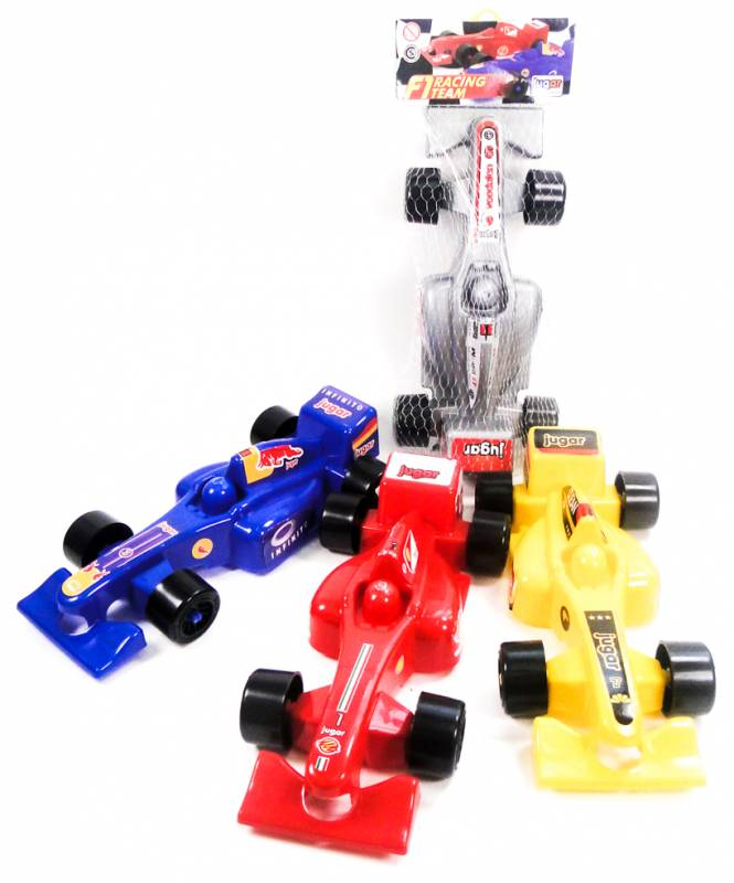 AUTO FORMULA 1 COLOR SURT 28CM RED