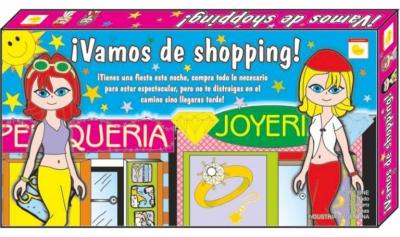 JUEGO MESA VAMOS DE SHOPPING