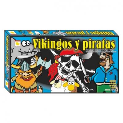 JUEGO MESA VIKINGOS Y PIRATAS